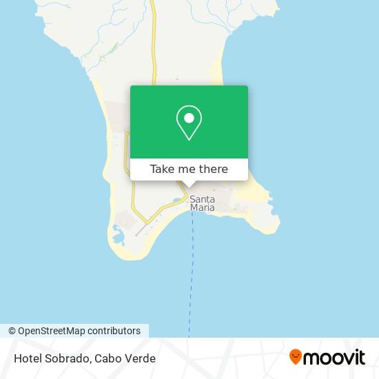 Hotel Sobrado mapa