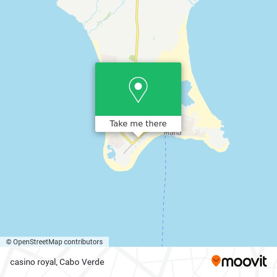 casino royal mapa