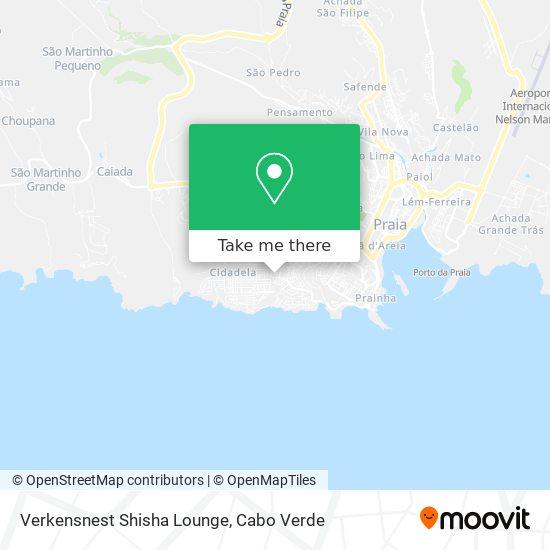 Verkensnest Shisha Lounge mapa