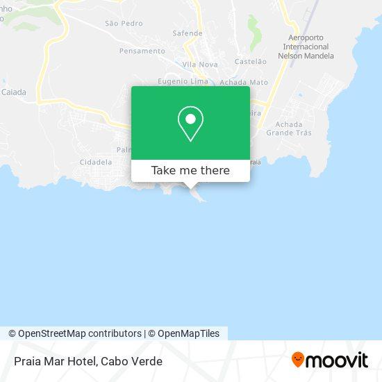 Praia Mar Hotel mapa