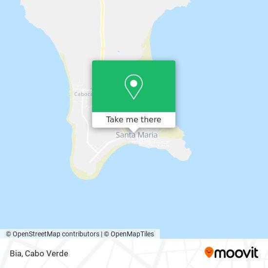 Bia mapa