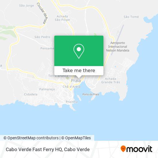 Cabo Verde Fast Ferry HQ mapa