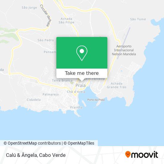 Calú & Ângela mapa