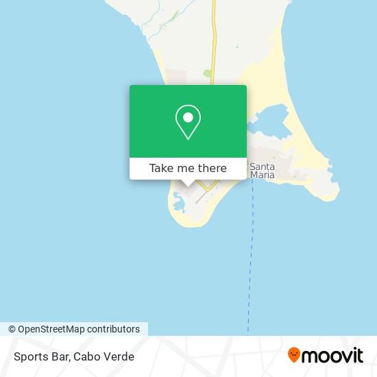 Sports Bar mapa