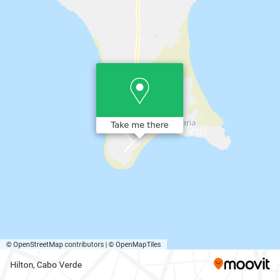 Hilton mapa