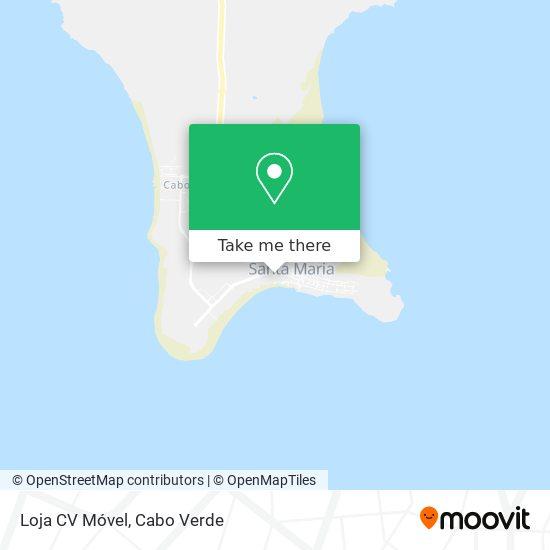 Loja CV Móvel mapa