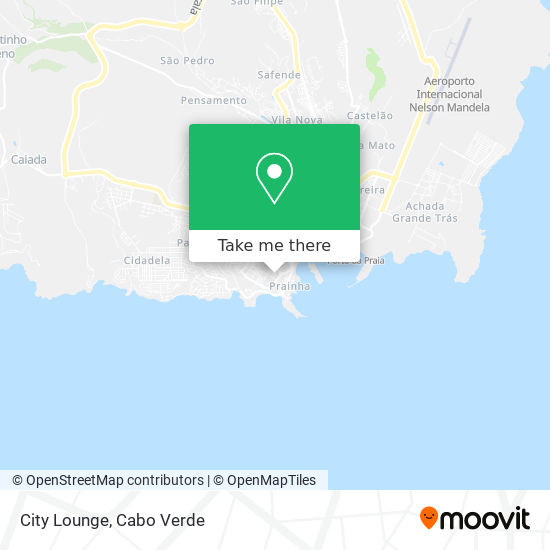 City Lounge mapa