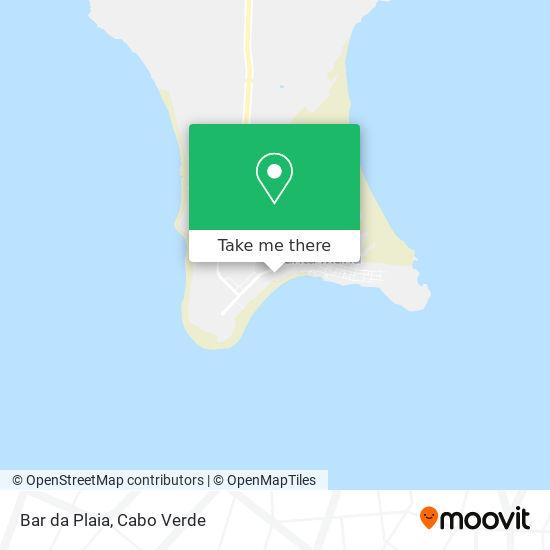 Bar da Plaia mapa