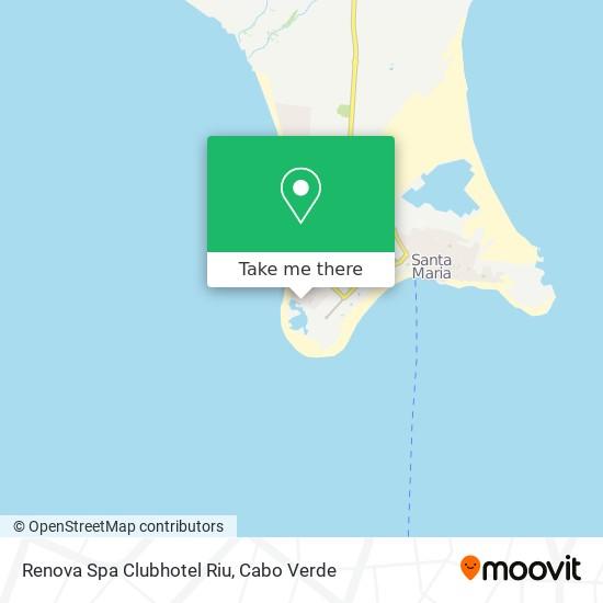 Renova Spa Clubhotel Riu mapa