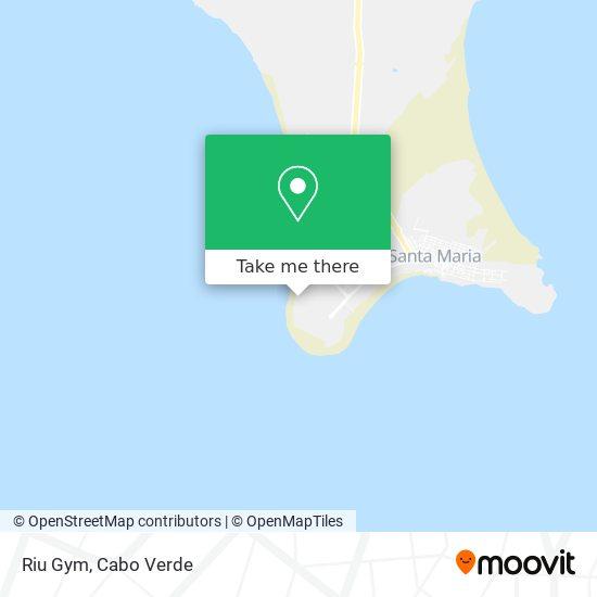 Riu Gym mapa