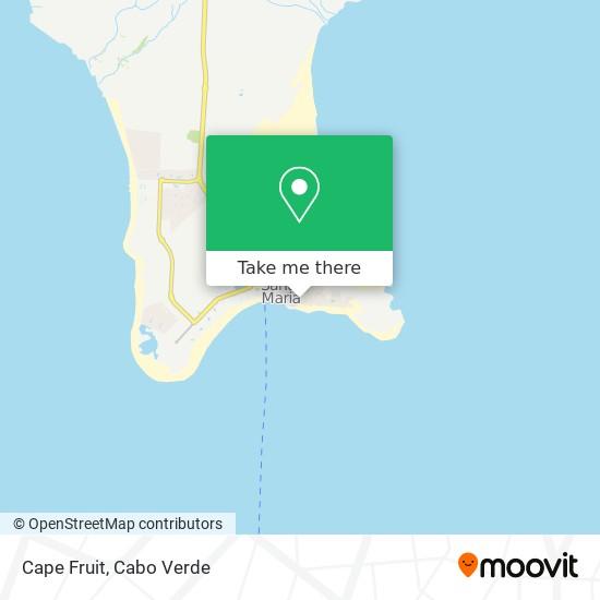Cape Fruit mapa