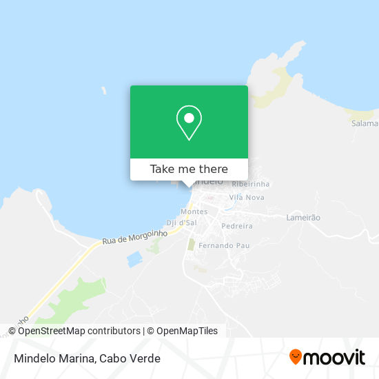 Mindelo Marina mapa