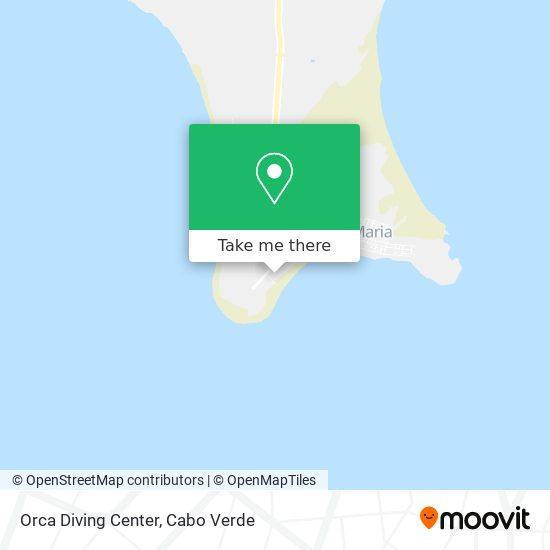 Orca Diving Center mapa