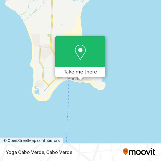 Yoga Cabo Verde mapa