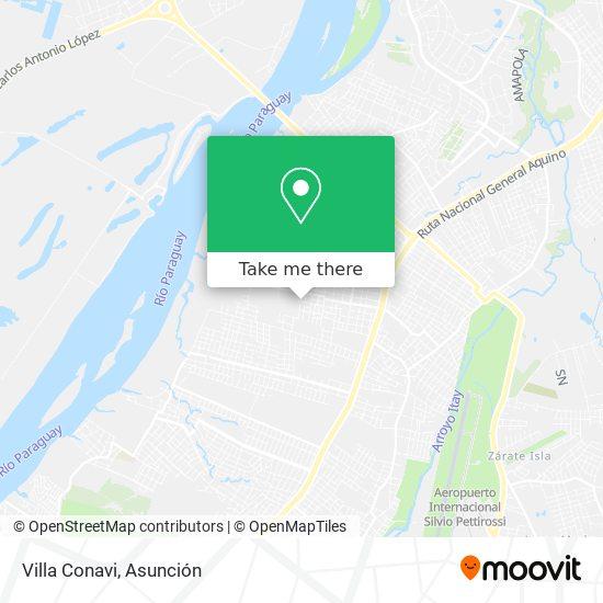 Villa Conavi mapa
