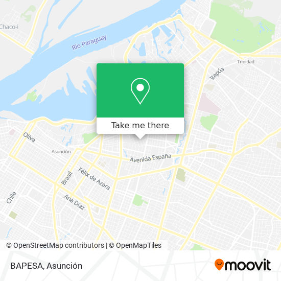 BAPESA mapa