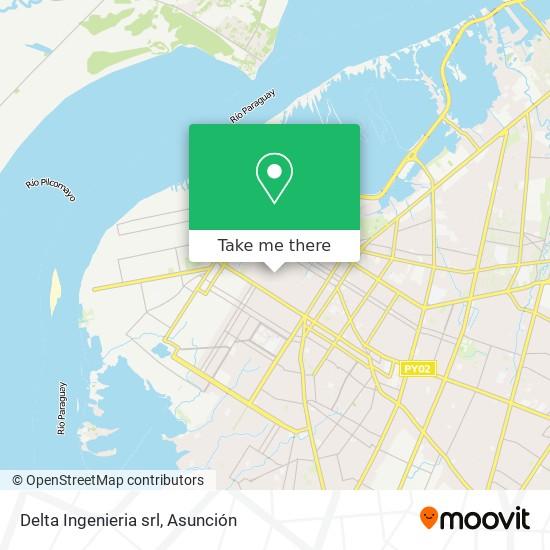 Delta Ingenieria srl mapa