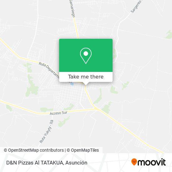D&N Pizzas Al TATAKUA map
