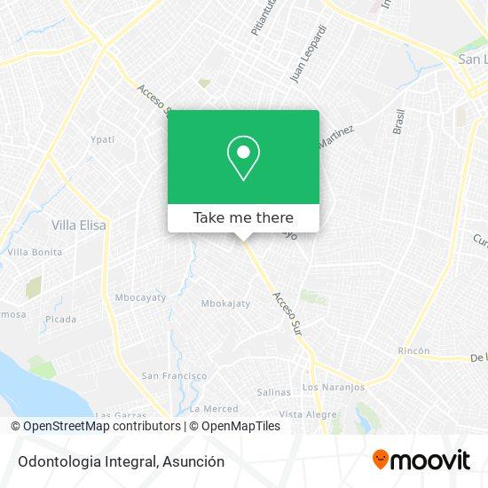 Odontologia Integral mapa