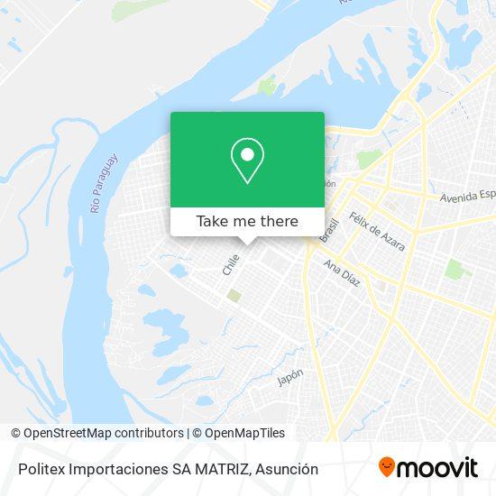 Politex Importaciones SA MATRIZ mapa