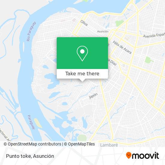 Punto toke mapa