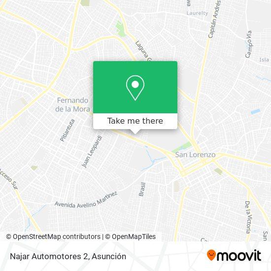 Najar Automotores 2 mapa
