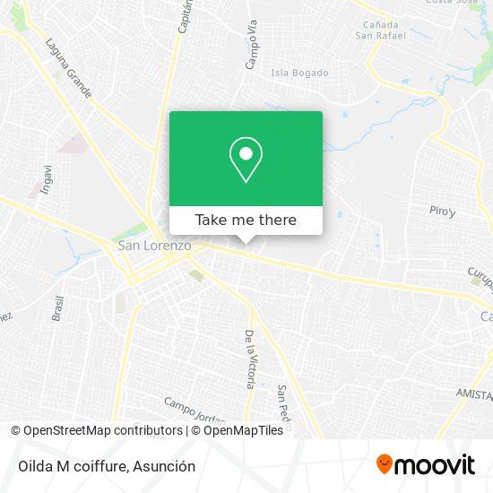 Oilda M coiffure mapa