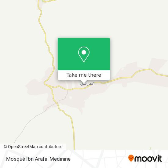 Mosqué Ibn Arafa plan