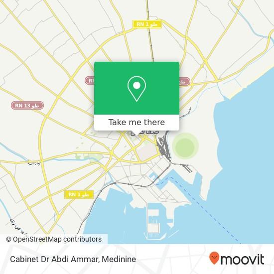 Cabinet Dr Abdi Ammar plan