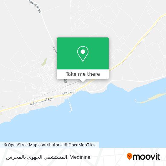 Hôpital Régional Mahres plan