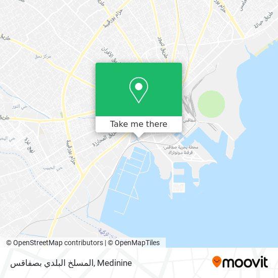 Abattoir De Sfax plan