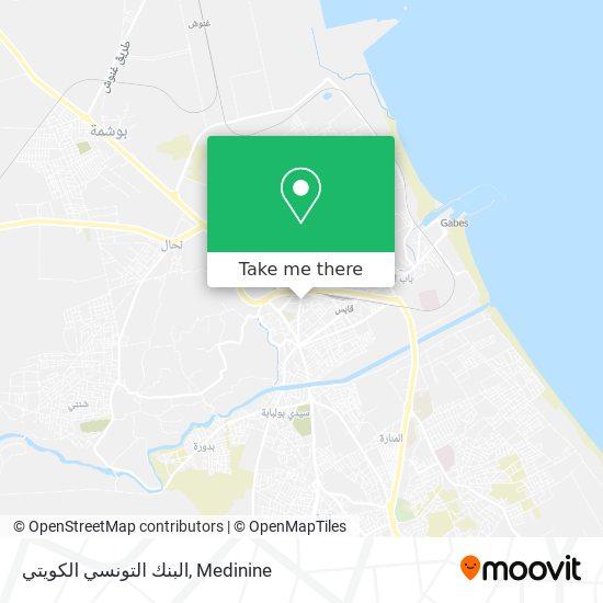 البنك التونسي الكويتي plan