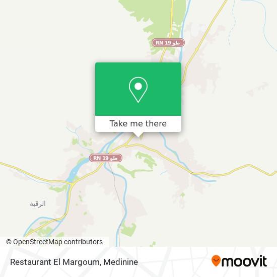Restaurant El Margoum plan