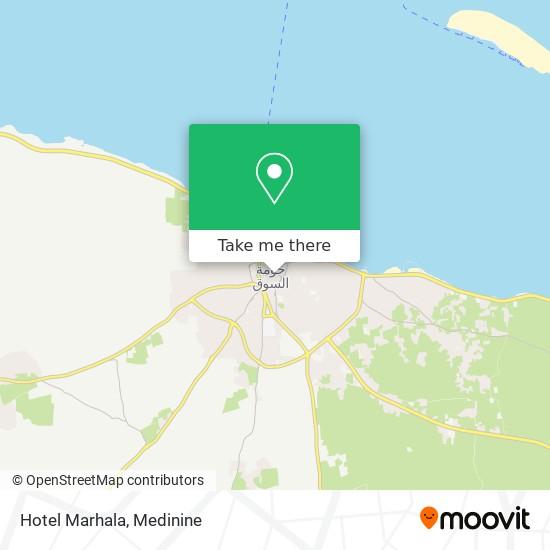 Hotel Marhala plan