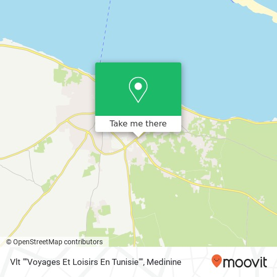 """Vlt """"""""Voyages Et Loisirs En Tunisie"""""""" plan"""