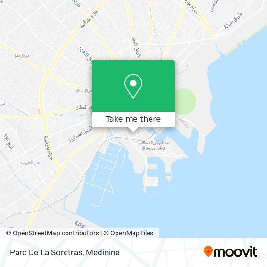 Parc De La Soretras plan