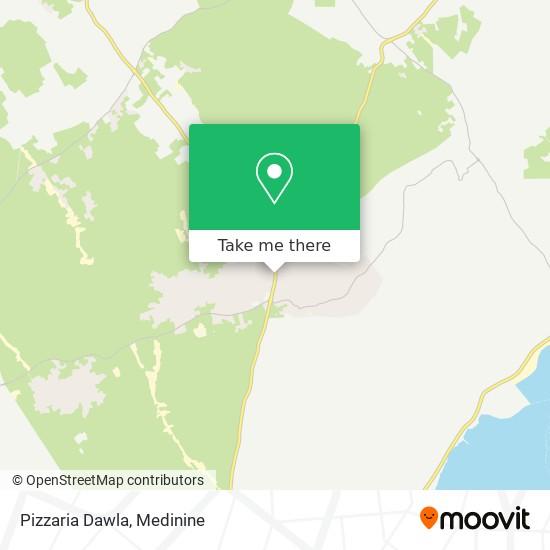Pizzaria Dawla plan