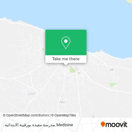 Ecole Primaire Moufida Bourguiba plan
