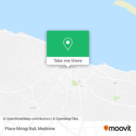 Place Mongi Bali plan