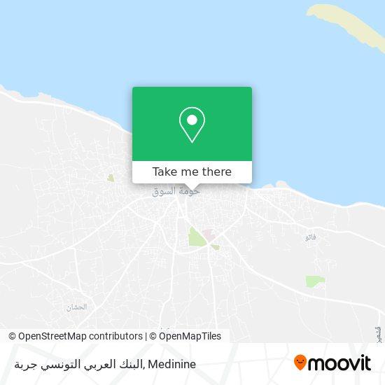 البنك العربي التونسي جربة plan