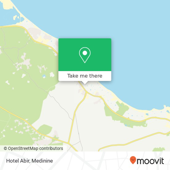 Hotel Abir plan