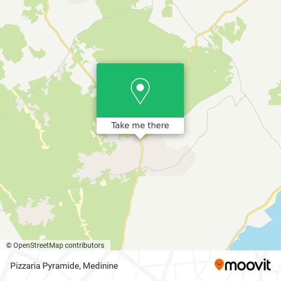 Pizzaria Pyramide plan
