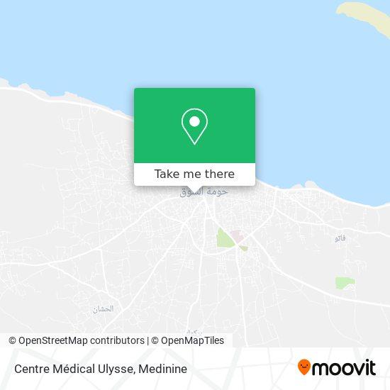 Centre Médical Ulysse plan