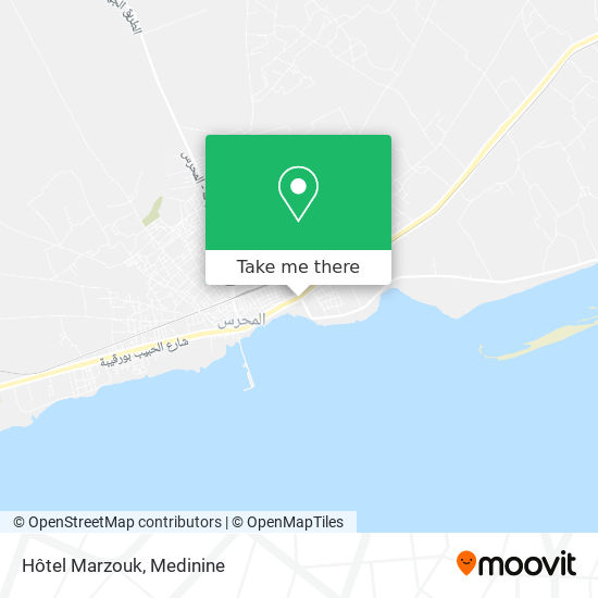 Hotel Marzouk plan