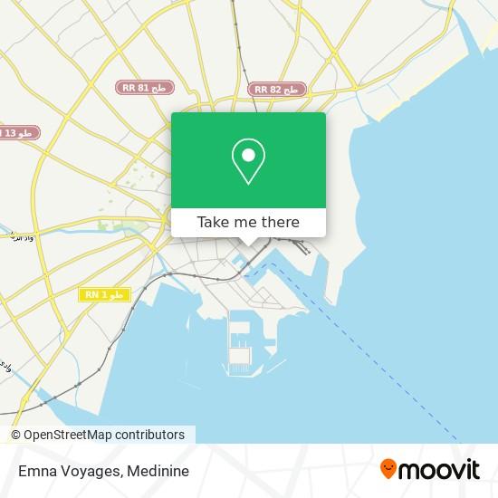 Emna Voyages plan