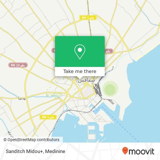 Sanditch Midou+ plan