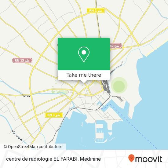 centre de radiologie EL FARABI plan
