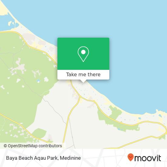 Baya Beach Aqau Park plan