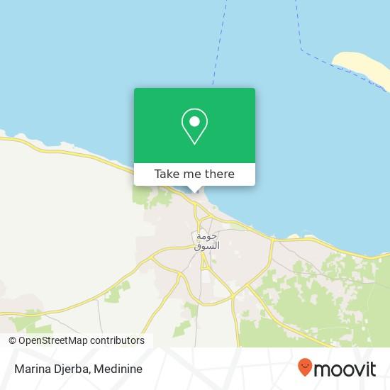 Marina Djerba plan