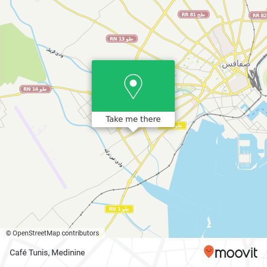 Café Tunis plan